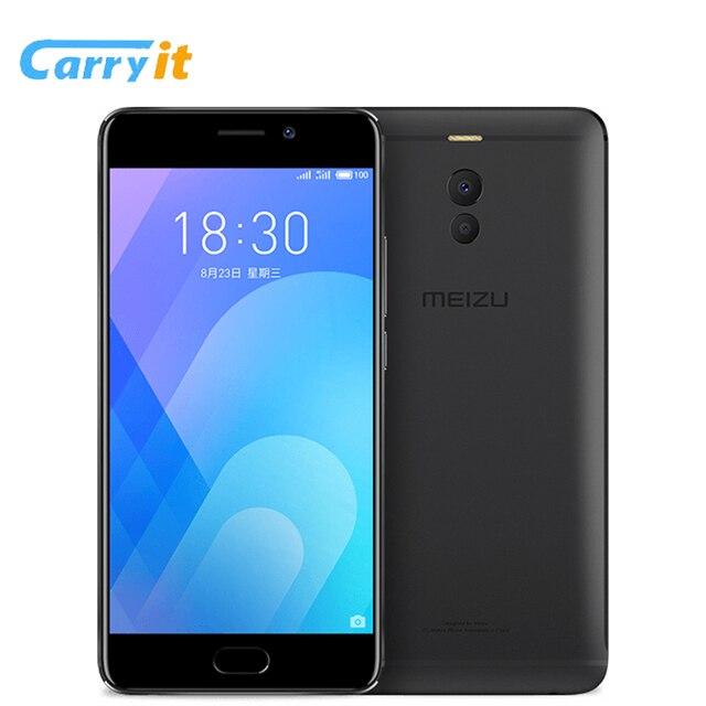 "Оригинал Meizu M6 Note 16 г 3 г Snapdragon 625 Octa Core 5.5 ""1920*1080 P двойной сзади камера 16mp 4000 мАч Быстрая зарядка Android"