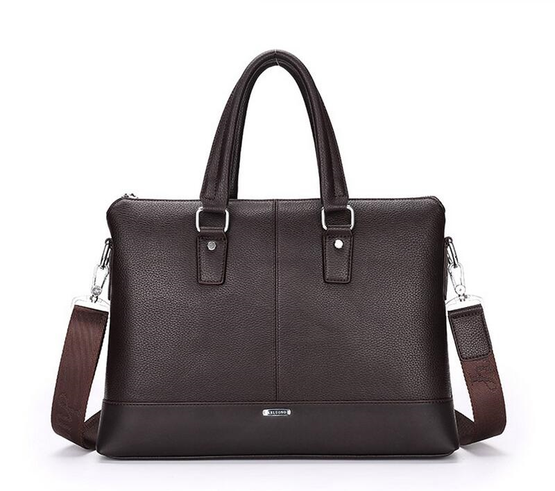 Hot  Men Casual Briefcase Business Shoulder Bag Leather Messenger Bags Computer Laptop Handbag Bag Men's Travel Bags  JIE-040 2016 men casual briefcase business shoulder bag leather messenger bags computer laptop handbag bag men s travel bags two colors