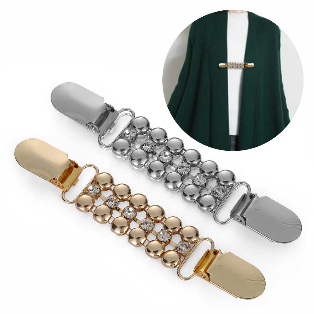 1 шт старинный кардиган зажим для Для женщин свитер блузка шаль клипы воротник рубашки ретро утка зажимы брошь для шали Шарм подарок
