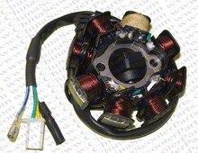 8 coil Magneto Alternator Stator for GY6 125cc 150cc 152QMI 157QMJ Taotao Kazuma Baotian Scooter ATV