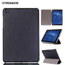 Extremely Slim Tri-folded Stand PU Leather-based Case for Xiaomi Mi Pad 2/three Pill PC Good Cowl with Auto Sleep/Get up Perform+stylus