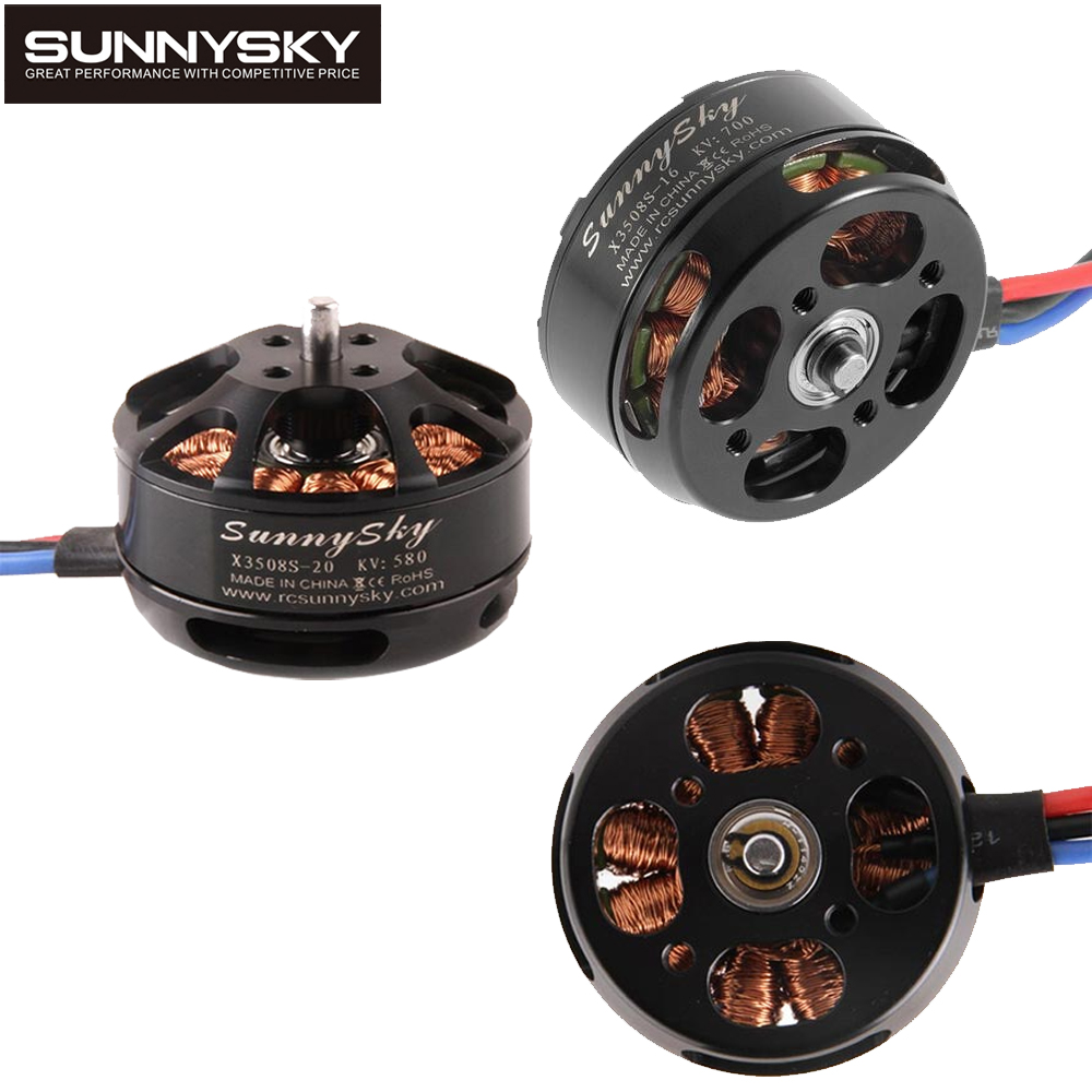 1pcs SunnySky X3508S 380KV 580KV 700KV Brushless Motor Suppport 4s for FPV mini quadcopter gopro aerial multicopter сайга 12 4 1 приклад по типу свд фанера ствол 580 мм купить