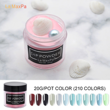 цена на LaMaxPa 20gram Dip Powder Nails Dipping Nails Stronger Natural dip nail systems