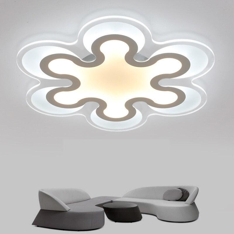 brief living room led ceiling lights acrylic design. Black Bedroom Furniture Sets. Home Design Ideas