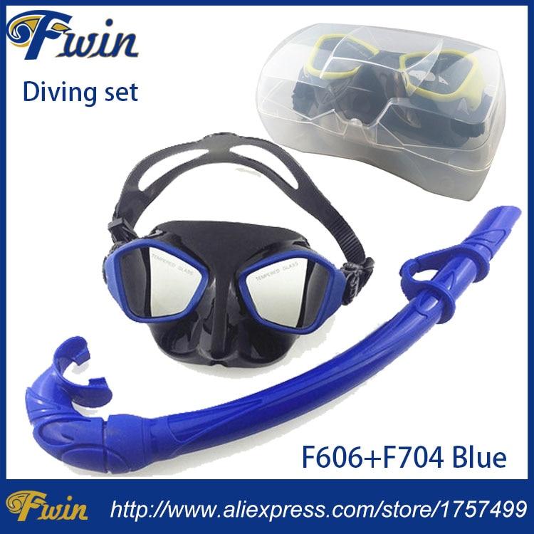 2017 novo chegada Tubo de Respiração Mergulho Goggle Proteção roll up  silicone Mergulho Máscara de mergulho Conjunto com caixa De Plástico 62e46c7365