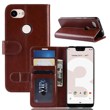 PU Leather Case for Google Pixel 3A XL Case Protective Case with Credit Card Pocket Kickstand Flip Cover for Google Pixel 3A XL ezpad 6 m6 protective leather case with kickstand black
