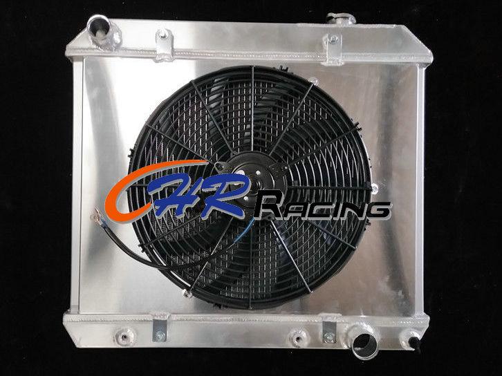 for Chevy Panel Truck C10 C20 C30 PONTIAC OLDS CAR 1963-1966 aluminum radiator