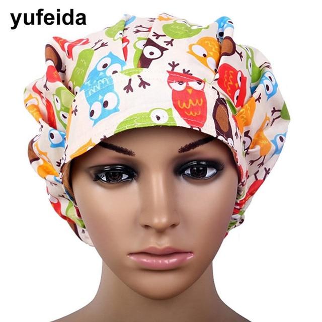 580ebcebb40 YUFEIDA Man Woman Surgical Cap Adjustable Unisex Lab Hospital Doctor  Medical Cotton