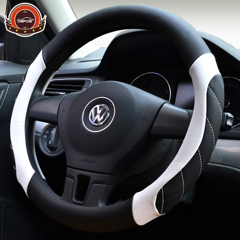 Top Quality Car Steering Wheel Cover Four Season Use Sport Car Auto Steering Wheel Diameter 36