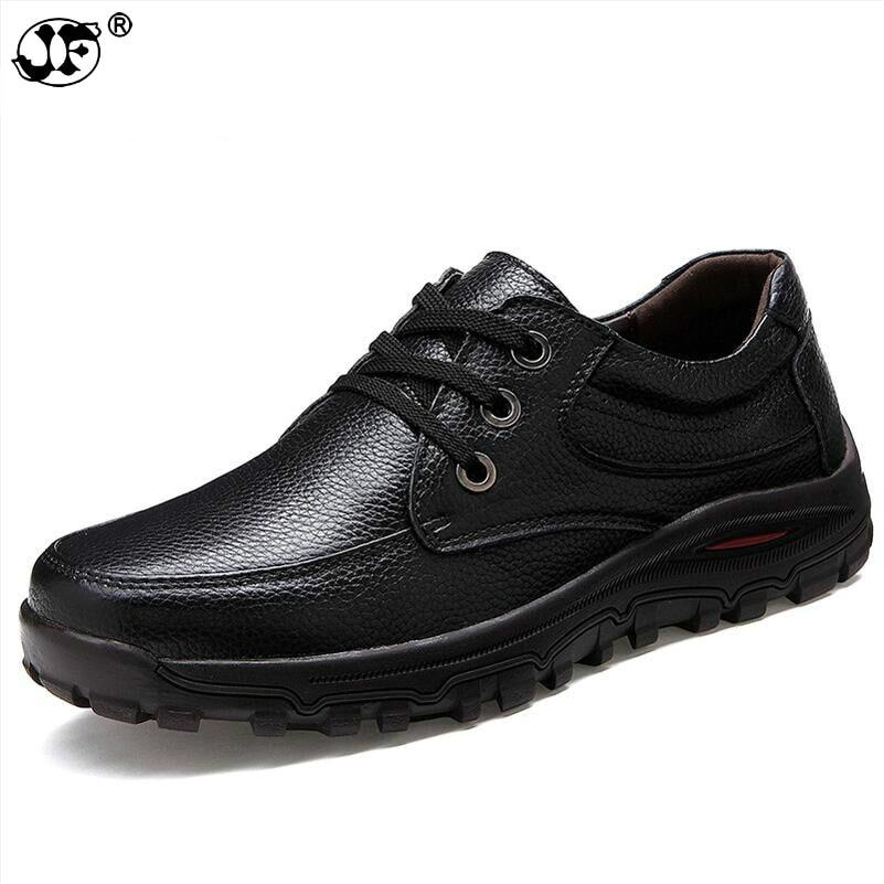 Marque Grandes Appartements À D'été Hiver Chaussures Tailles En Noir De La Main Cuir marron Mode 415 Automne Haute Hommes Qualité Véritable rqTrfOng