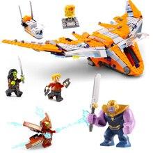 Lepin 07103 755Pcs Superheros Series legoing 76107 Thanos Ultimate Battle Set Building Blocks Bricks Toys Kids Birthday Gift