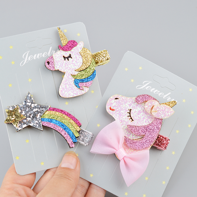 Gilter Star Hair Clips For Girls Fashion Kids Hairpins Barrettes Cartoon Hairgrip Hair Accessories