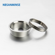 5 Pcs / Lot FF Front Ferrule Type Stainless Steel 316L Tube Fitting Plumbing Fitting High Quality Sanmin