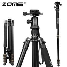 New Zomei Z688 Aluminum Professional Tripod Monopod + Ball Head For DSLR camera Portable / SLR Camera stand / Better than Q666