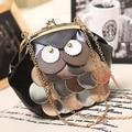 High Quality PU leather Chain Owl Mini Crossbody Bag Women Handbag Designers Brand Women messenger bags bolsas femininas 2016