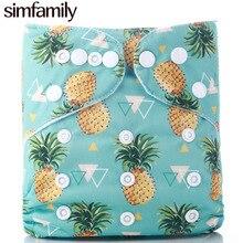 [simfamily]1PC One Size Pocket Cloth Diaper simfamily Baby Diaper Cloth Nappy