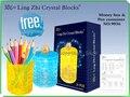Divertido DIY material ABS pote Del Cepillo nuevo rompecabezas puzzle 3d de cristal jigsaw brinquedos educativos niños juguetes para niños