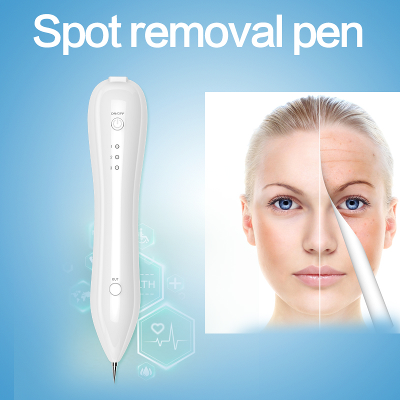 Laser Mole Removal Pen Skin Tag Remover Kit Spot Eraser Pro For Tattoo  Nevus Freckles Birth Mark with USB Charging