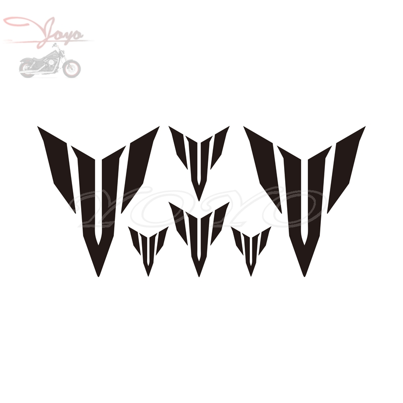 Motorcycle Decals Fairing Stickers Fuel Tank Sticker For Yamaha MT09 MT07 MT01 MT03 MT125(China)