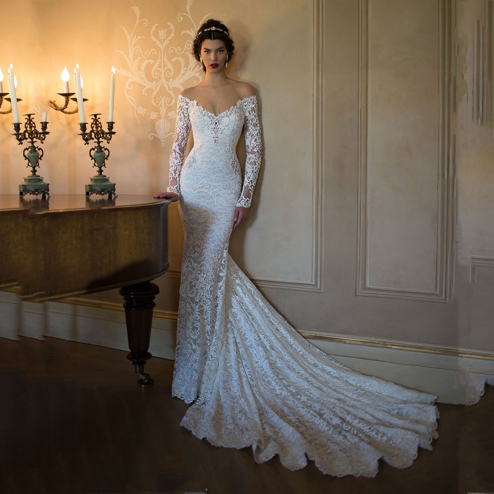 Wedding Dresses: Wejanedress High Quality Sexy Off The Shoulder Open Back
