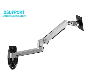 Image 5 - Wall Mount Ultra Long Aluminum Alloy Mechanical Spring Arm Monitor Support Full Motion Monitor Holder Mount Bracket