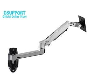 Image 5 - Wand Montieren Ultra Lange Aluminium Legierung Mechanische Frühling Arm Monitor Unterstützung Full Motion Monitor Halter Halterung