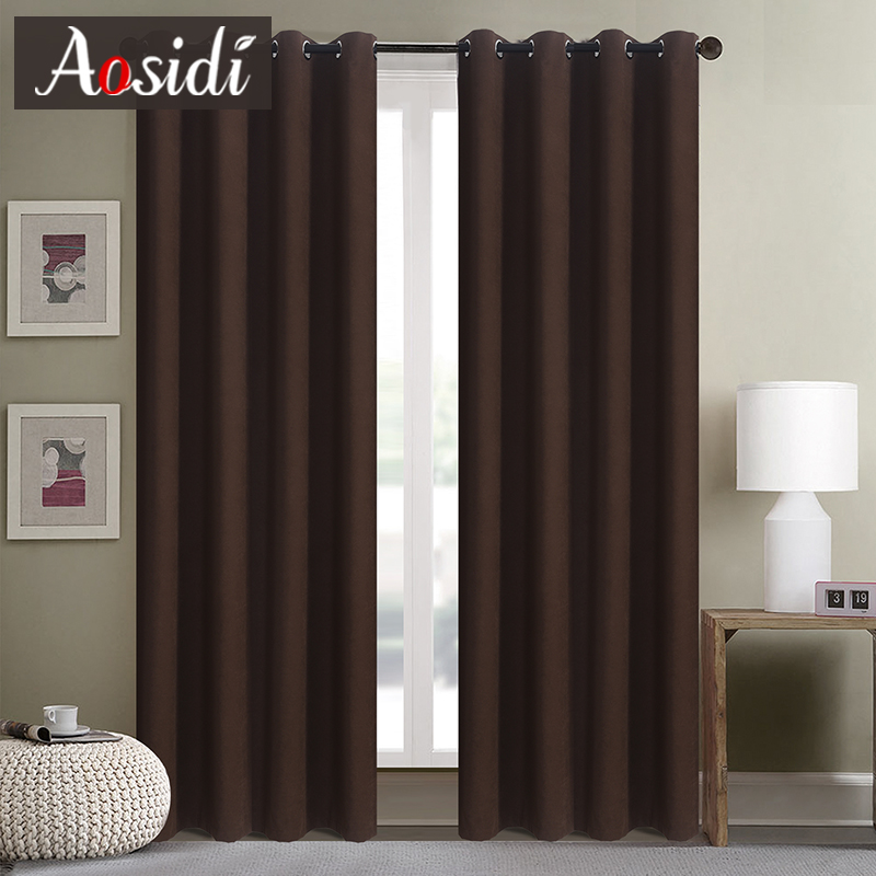 Modern Velvet Curtains For The Living Room Window Solid Color Blackout Curtains For Bedroom Blinds Finished Drapes 90% Shading