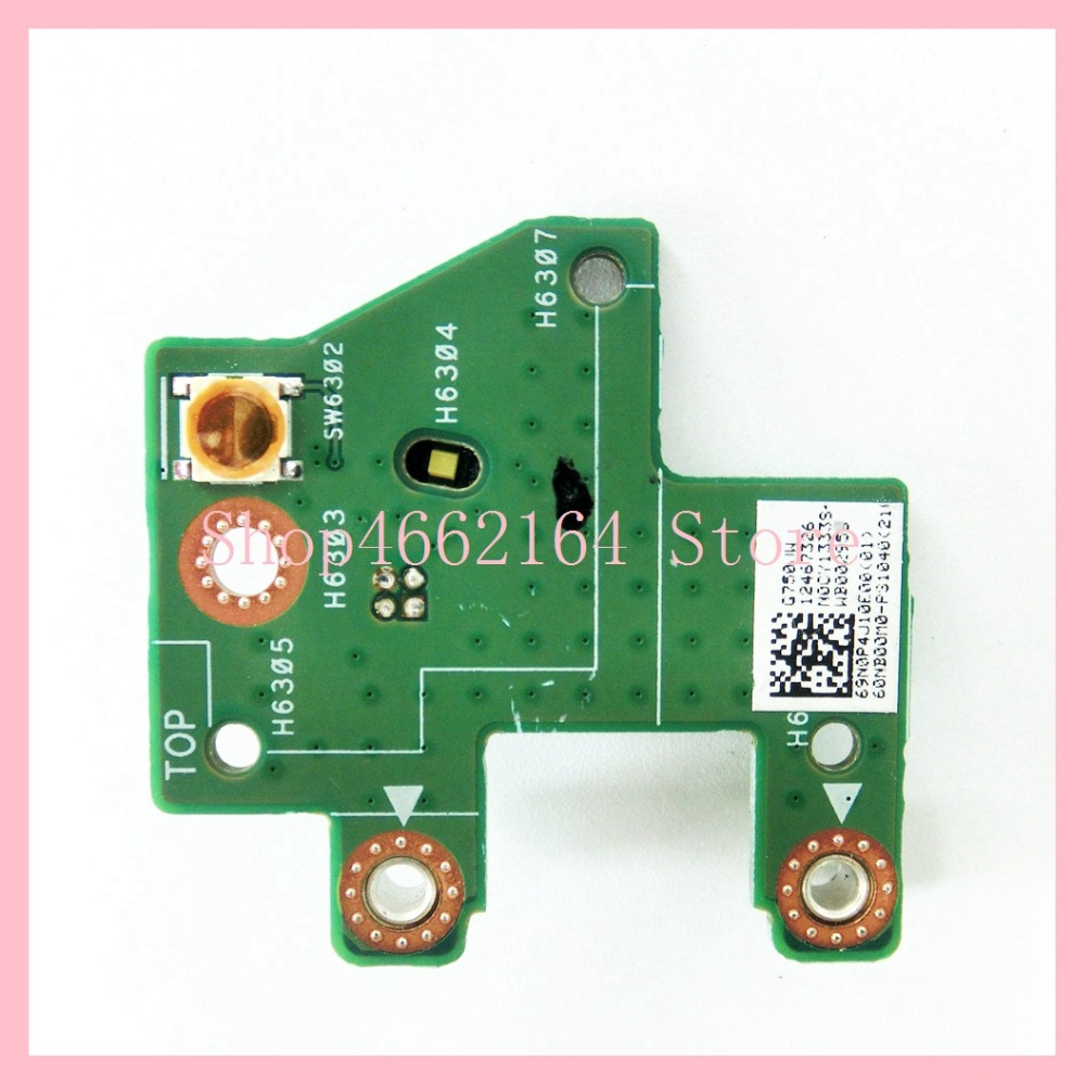 G750JW POWER BOARD For ASUS G750 G750JW G750JZ G750JM G750J G750JX G750JH POWER Button Board Switch Button switch Small Board Price $14.89
