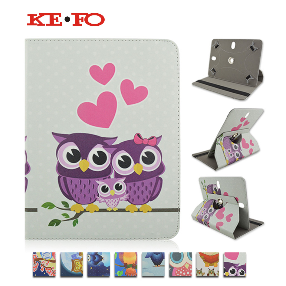 360 Rotating PU Leather case capa para RUSSIA For Oysters T72 HA 3G 7 inch Universal Tablet cover case