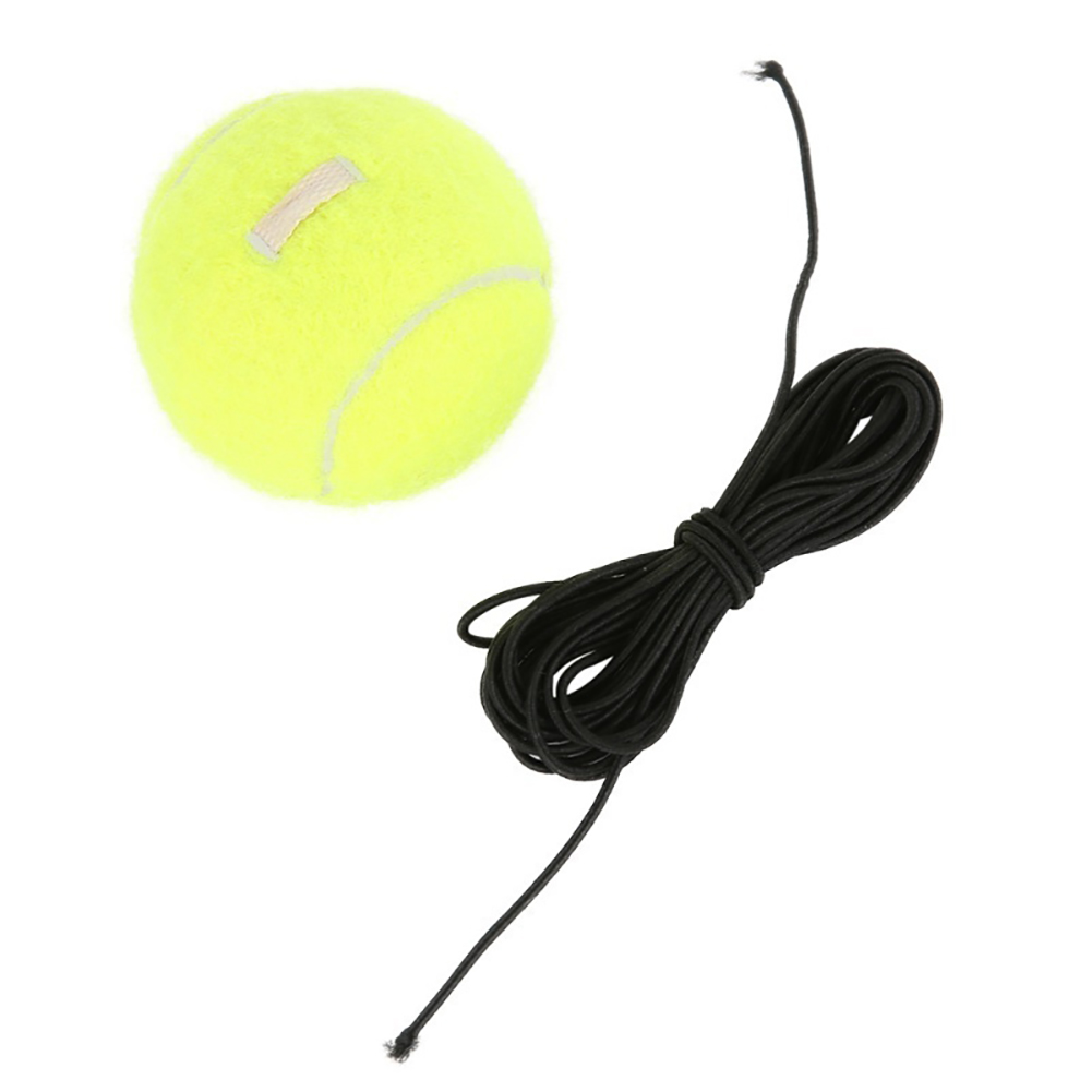 Elastic Rubber Band Tennis Ball Single Practice Training Belt Line Cord Tool 3
