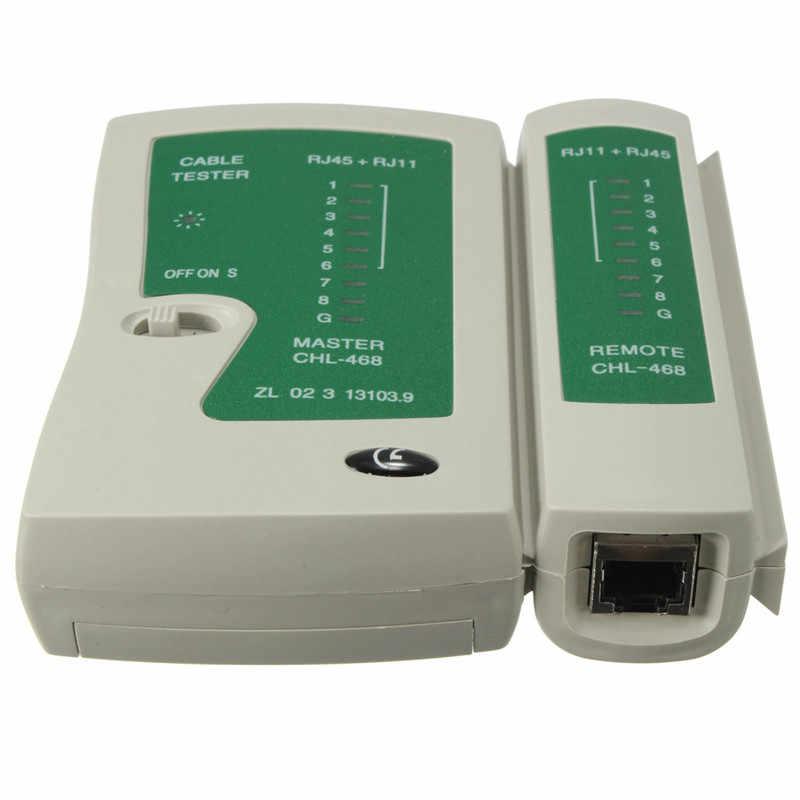 1 kabel PC zaciskarki RJ45 RJ11 RJ12 CAT5 LAN narzędzie sieciowe zestaw Tester kabli szczypce do zdejmowania izolacji szczypce zaciskowe najwyższej jakości