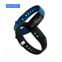 V07 Smart Wristband Band Heart Rate Monitor Blood Pressure Bracelets Pedomet Bracelet Fitness Tracker SmartBand For