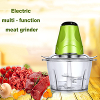 2018 New Electric Meat Grinder Stainless Steel Electric Mincer Sausage Maker Vegetable Choppers Garlic Presses Kitchen Tools