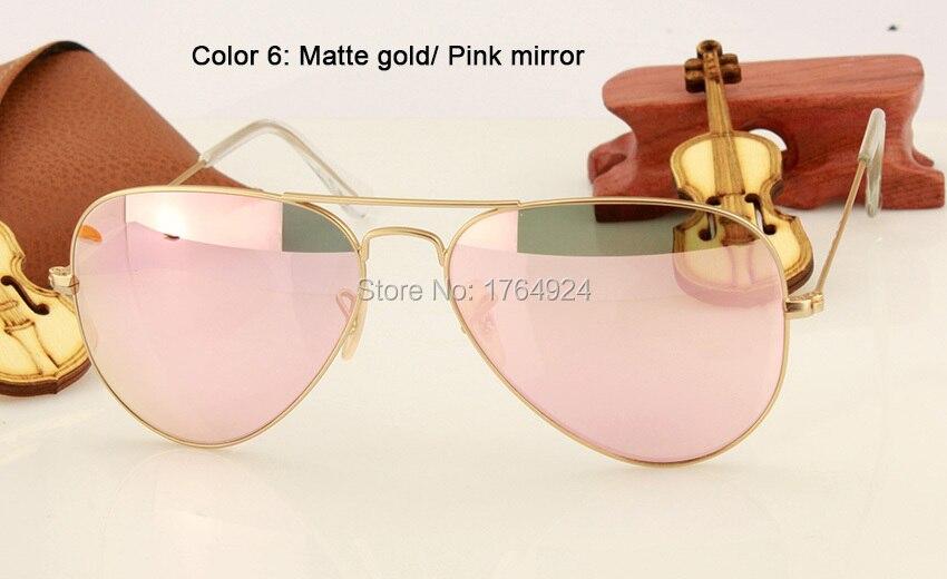 RB3025 112-Z2 matte gold pink mirror (2)