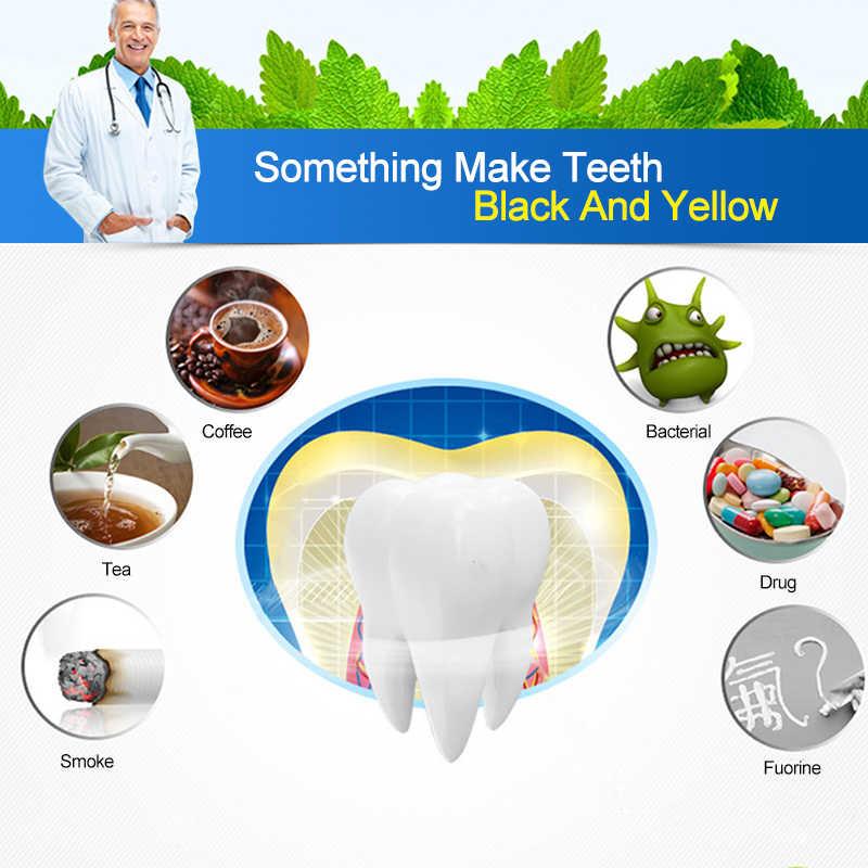 2 Pcs/pair לבן ג 'ל הלבנת רצועות היגיינת פה טיפול שיניים ערכת שיניים רצועות הלבנת שיניים הלבנת כלים TSLM2