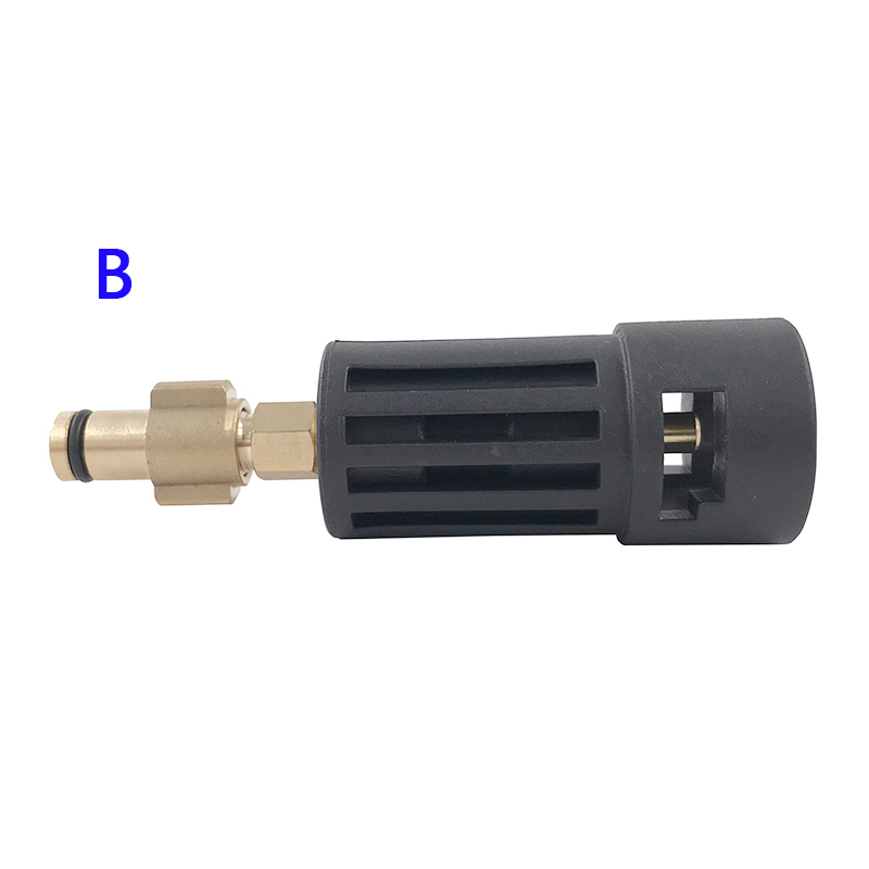 Image 3 - High Pressure Washer Connector Adapter for Connecting AR/Interskol/Lavor/Bosche/Huter/M22 Lance to Karcher Gun Female Bayonet-in Water Gun & Snow Foam Lance from Automobiles & Motorcycles