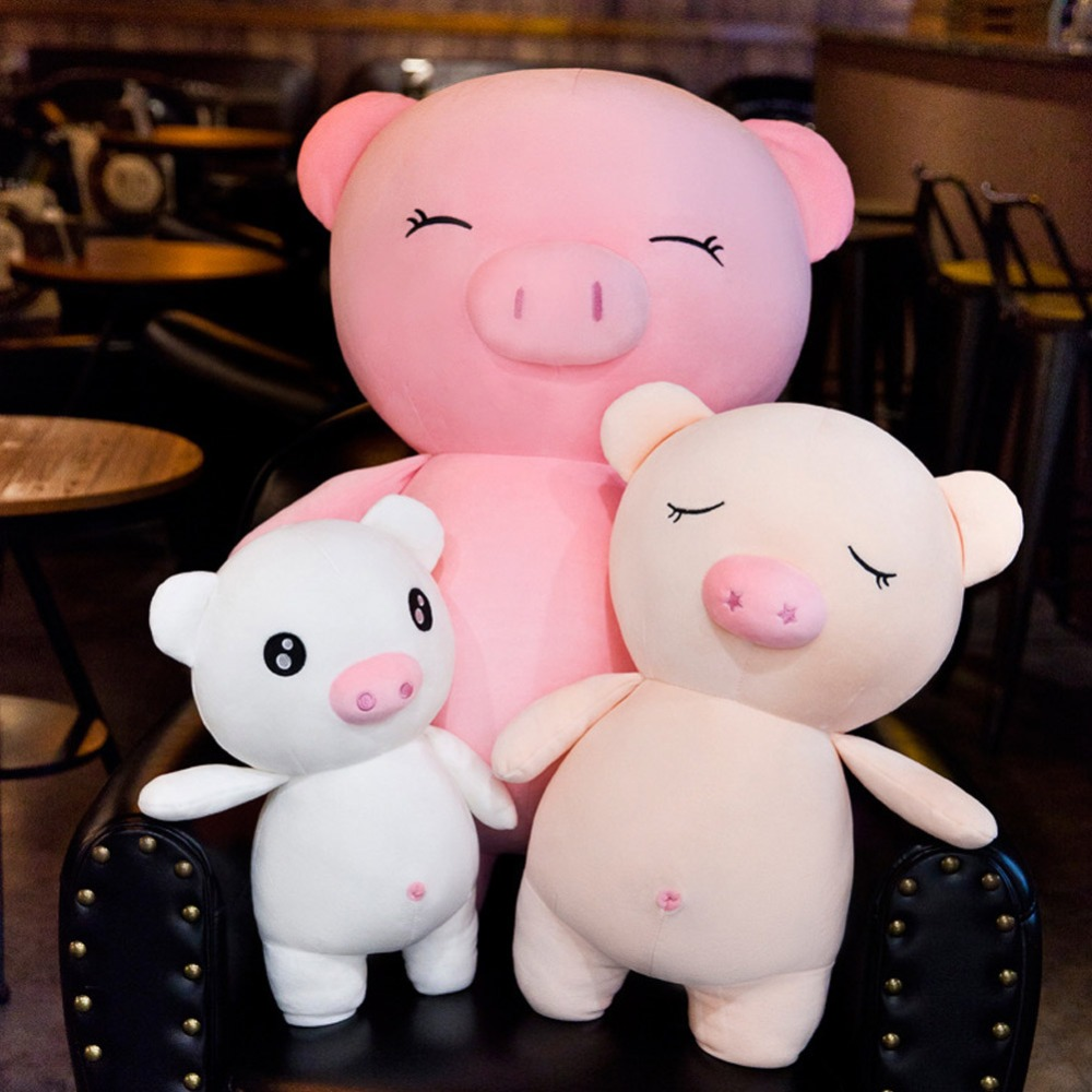 44cm 70cm Tiny Plush toys Piggy soft dolls Stuffed birthday gifts for girl friends present baby doll toy for kids christmas in Movies TV from Toys Hobbies