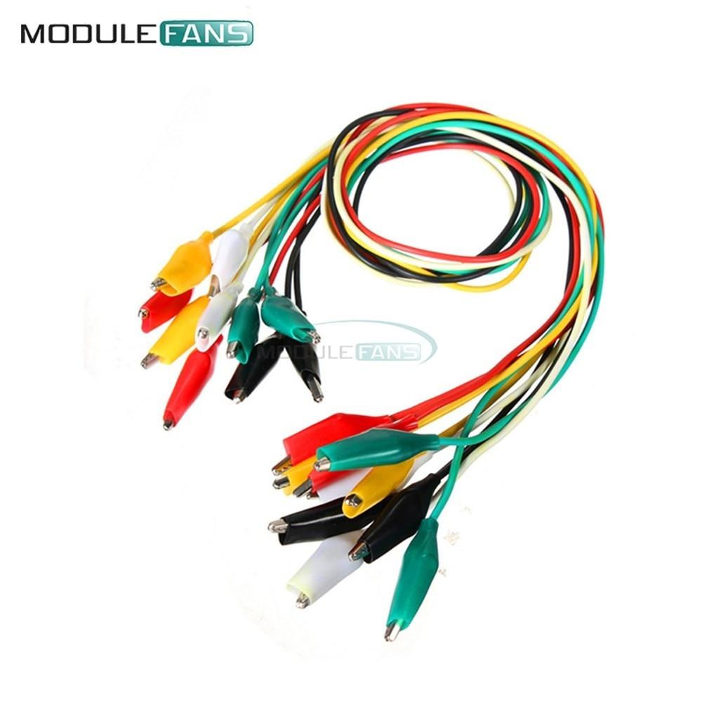 N//V sonda de cocodrilo conduce la prueba el/éctrica clip pin pl/átano cable para mult/ímetro digital cable pluma cable prueba herramienta