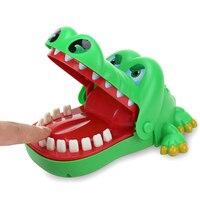 Творческий розыгрыши рот зуб аллигатора вручную детские игрушки Семья игры классические кусать руку Крокодил игры