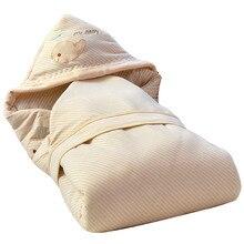 90*90 милый Пеленальный Конверт для новорожденных зимний плотный теплый хлопок детское постельное белье одеяло детский спальный мешок одеяло для новорожденных