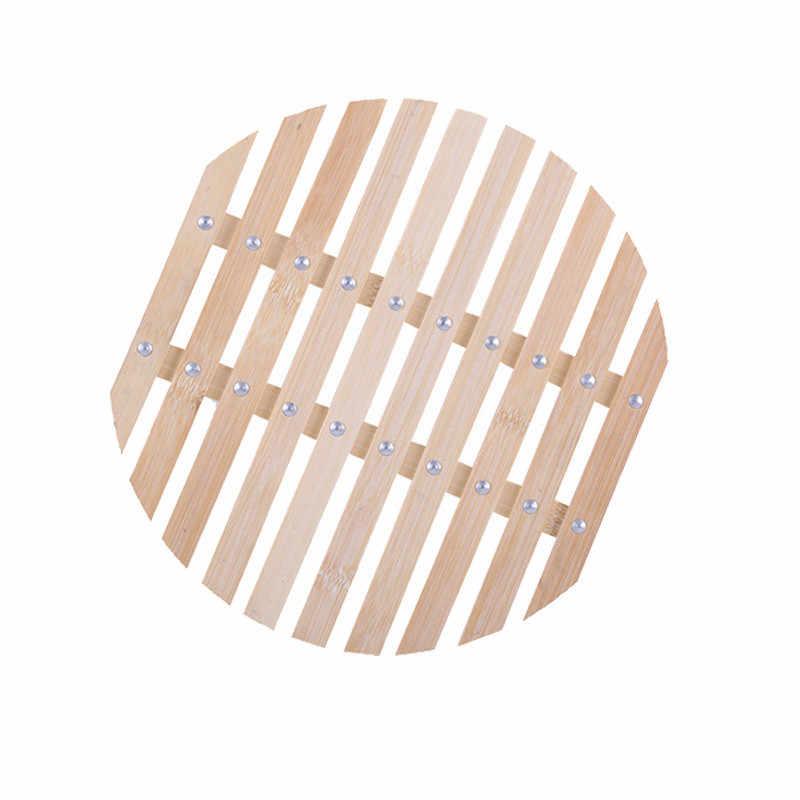 Espessamento de bambu steamer com quadro Sobremesa pão de vapor de aço inoxidável vapor de alimentos à base de carne de peixe Bolinho Fogão Cesta de Dim Sum