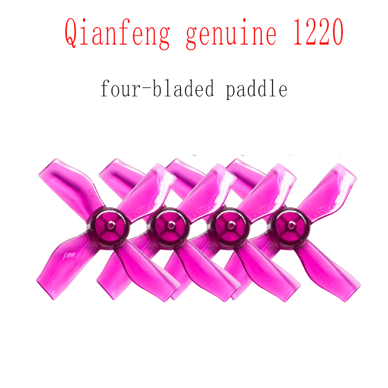 GEMFAN 1220 1.2x2x4 31mm 0.8mm 1.0mm Hole 4-blade Propeller PC CW CCW Props For 0703-1103 RC Drone FPV Racing Brushless Motor