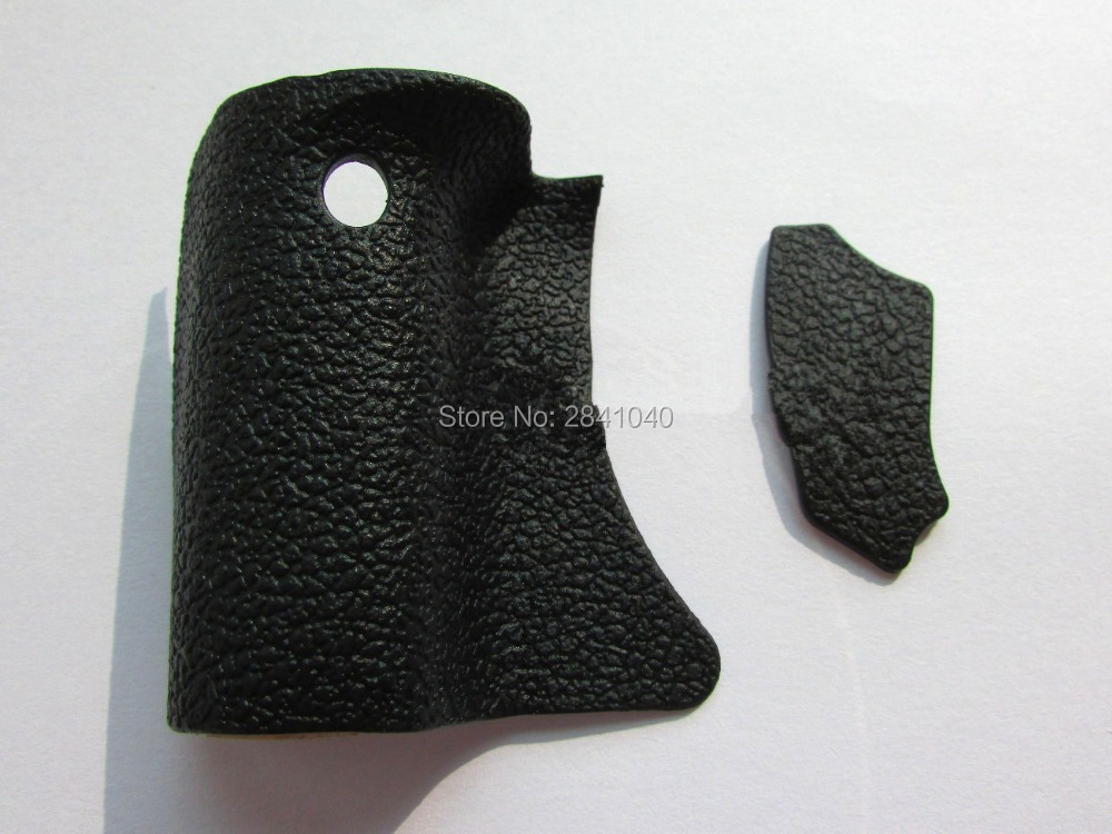 New A Set Of 2 Pcs Body Rubber Grip Rubber and Thumb Rubber For Canon 550D