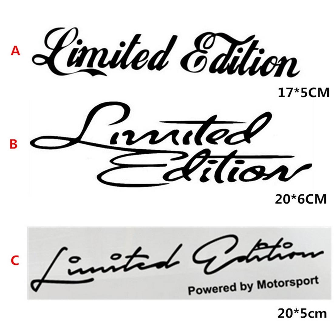 New Arrival Limited Edition Sticker Funny Auto Car Sticker
