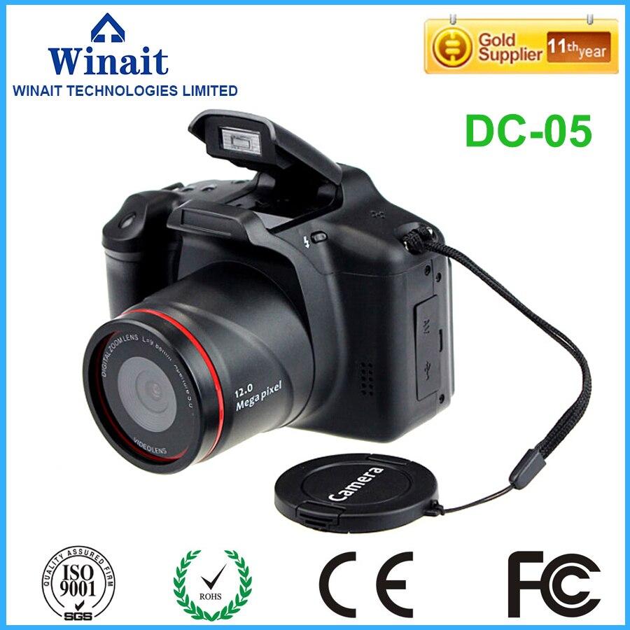 ФОТО Freeshipping 64GB fixed focus dslr camera with 4x digital zoom12MP 720P digital camera periscope lens