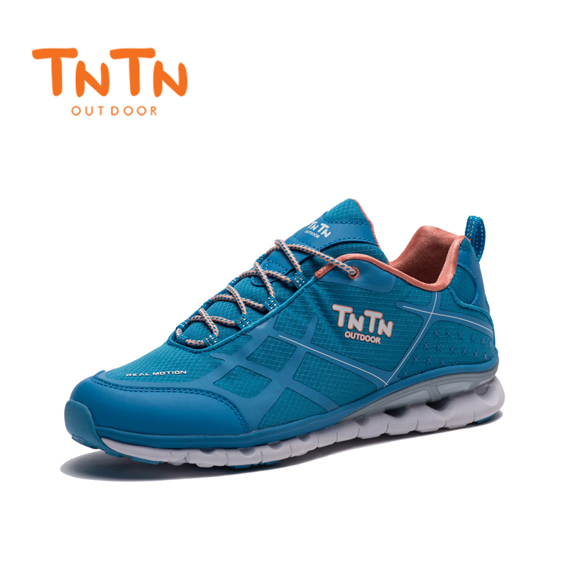 2018 TNTN Outdoor Winter Shoes Breathable Hiking Shoes Mesh Cushioning Off-road Running Leisure Sports Shoes For Women