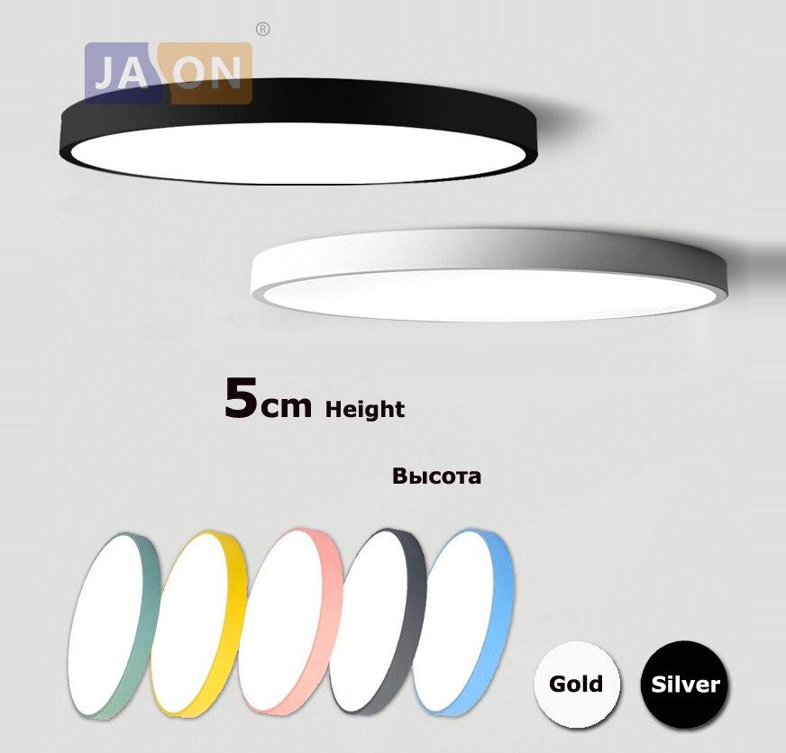 LED Moderne Acryl Legierung Runde 5cm Super Dünne LED Lampe. LED Licht. decke Lichter. LED Decke Licht. decke Lampe Für Foyer Schlafzimmer