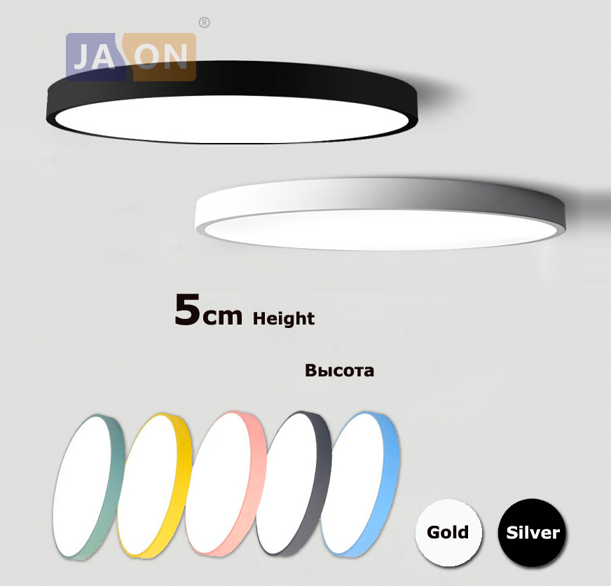 Led moderno acryl liga redonda 5cm super fino lâmpada led. led luz. luzes de teto. led luz de teto. lâmpada de teto para quarto foyer
