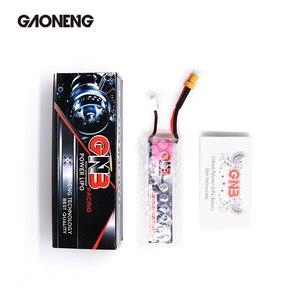 Image 5 - 2 pces gaoneng gnb lipo bateria 520 mah 7.6 v 80c 2 s hv 4.35 v recarregável rc bateria xt30 plug para rc fpv zangão quadcopter