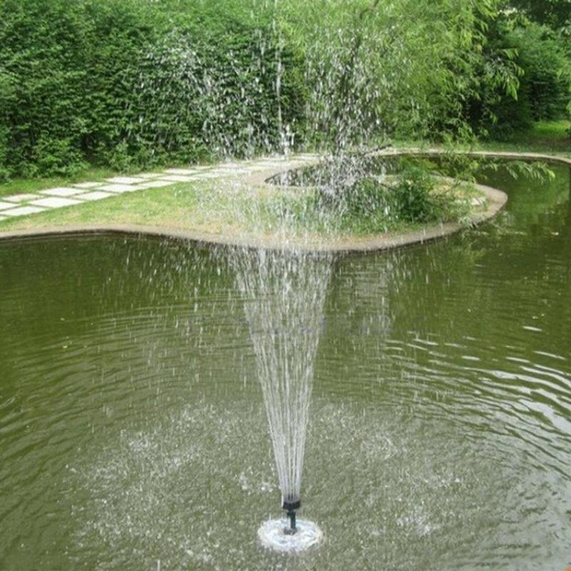Image 5 - Solar Power Fountain Garden Sprinkler Solar Fountain Water Sprinkler Floating Water Pump Watering Systerm Garden Decoration-in Garden Sprinklers from Home & Garden